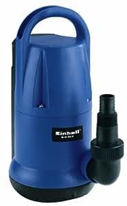 Einhell Tauchpumpe BG-SP 550 IF (550 W, 11.000 l/h, 7 m Eintauchtiefe, Umschalter Manuell-Automatik, Universalanschluss)