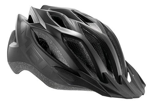 MET Fahrradhelm Crossover Matt, Black, 52-59 cm, 3HELM86UNNX
