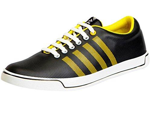 Fausto 1110-44 Black Men's Sneakers