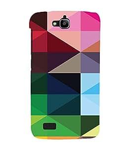 PrintVisa Digital Art Pattern 3D Hard Polycarbonate Designer Back Case Cover for Huawei Honor Holly
