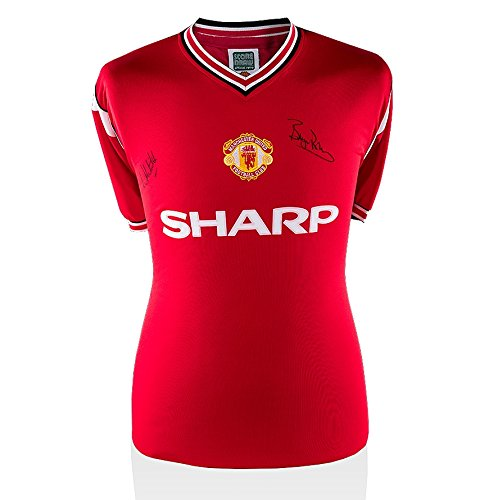 Bryan-Robson-Norman-Whiteside-Front-Signed-Manchester-United-Shirt-FA-Cup-Final-1985