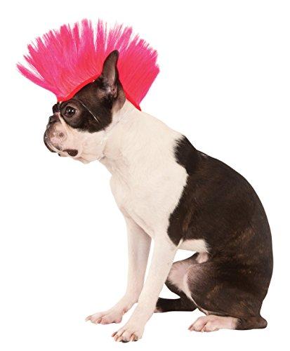 Rubies Electric Pink Pet Mohawk Wig (Perücke Pink Electric)