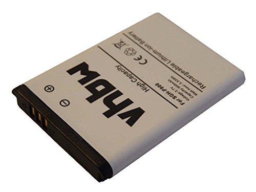 vhbw Li-Ion Akku 900mAh (3.7V) für Handy Smartphone Telefon Samsung SGH-D730, SGH-E210, SGH-E218, SGH-E250 wie AB043446B, AB043446L, BST3108BC.