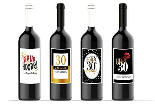 stag-SIP SIP HOORAY-Wein Flasche Etiketten ()