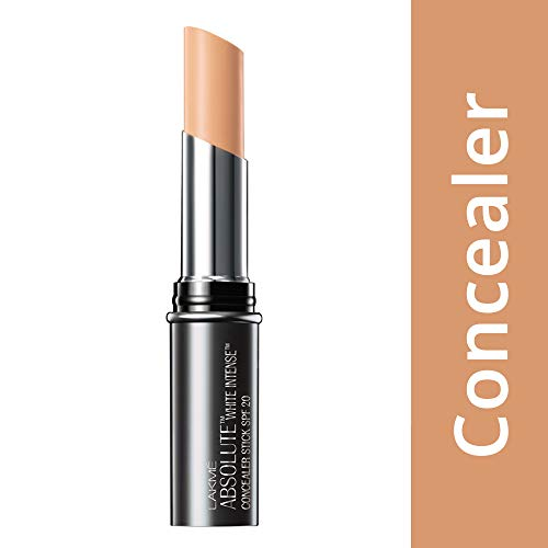 Lakme Absolute White Intense SPF 20 Concealer Stick, Honey 05, 3.6g