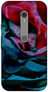 The Racoon Grip Petals hard plastic printed back case / cover for Motorola Moto G Turbo