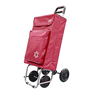 Amig Cart Shopping 4R Flask Red