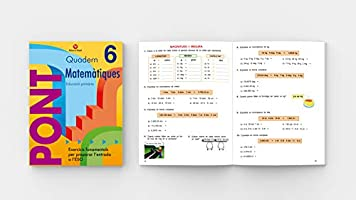Pont Matemàtiques 6È Primària (Pont (canvi De Curs))