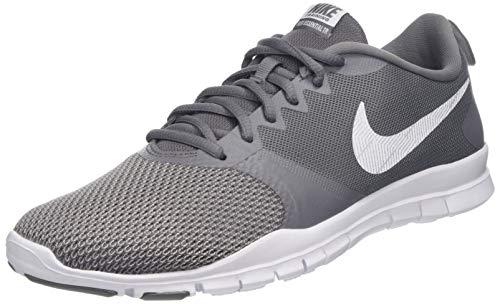Nike Damen WMNS Flex Essential Tr Fitnessschuhe, Mehrfarbig (Gunsmoke/White/Atmosphere Grey 002), 37.5 EU - Nike Cross-trainer Schuhe