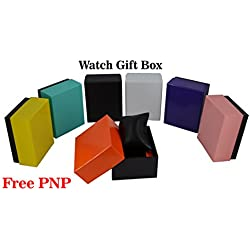 Watch Empty Box Jewellery Bracelets Gift Box Black Cushion