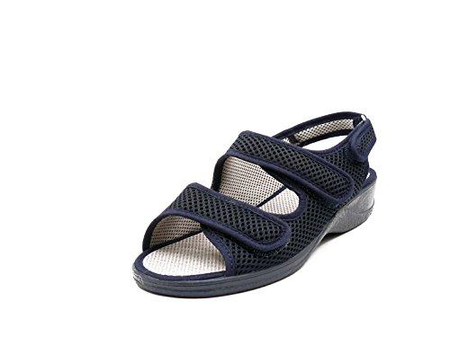 Zapatilla Mujer, Marca DOCTOR CUTILLAS, Color Azul