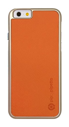 PIPETTO Inserto Case_p iPhone 6, Orange Saffiano (PU), Orange Saffiano (PU)