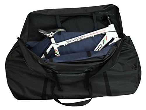 Tofern Fahrrad Transporttasche 121 * 85 * 20CM Schwarz -