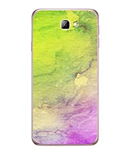 FUSON Designer Back Case Cover for Samsung On7 (2016) New Edition For 2017 :: Samsung Galaxy On 5 (2017) (Artwork Acid Bright Wallpaper Purple Green Mix)