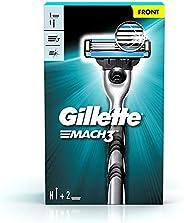 Gillette Mach 3 Shaving Razor + 1 Shaving Blade (Cartridge)