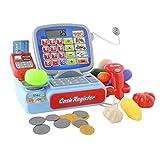 amara-global Registrierkasse Kaufladen Kinder mit Kasse Scanner Spiel Spielzeug
