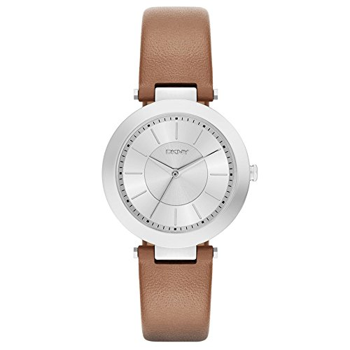 DKNY (DNKY5) Women's Quartz Watch with White Dial Analogue Display and White Stainless Steel Bracelet NY2293