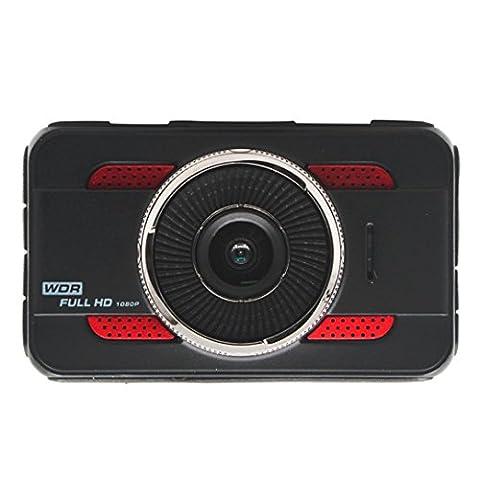 Gaddrt Nouveau 3 '' Full HD 1080P Car DVR Enregistreur de caméra vidéo Dashboard Dash Cam G-sensor