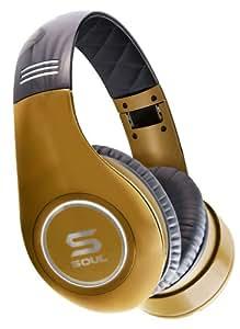 SOUL by Ludacris SL300GG HD-Kopfhörer mit Geräuschunterdrückung Gold
