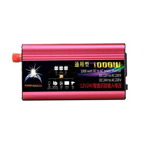 100W DC Profesional al inversor de Corriente alterna 12V / 24V al inversor automotriz de la Fuente de alimentación del Coche 220V