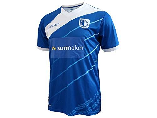 Uhlsport Herren 1. FC Magdeburg 18/19 Heim Fußballtrikot blau 3XL