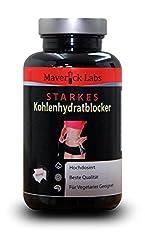 """Starkes Kohlenhydrat-Blocker """"Carb-Blocker' System - Ultimative Kapseln, um beim Blockieren von Kohlenhydraten und abnehmen zu helfen – 90 Kapseln"""