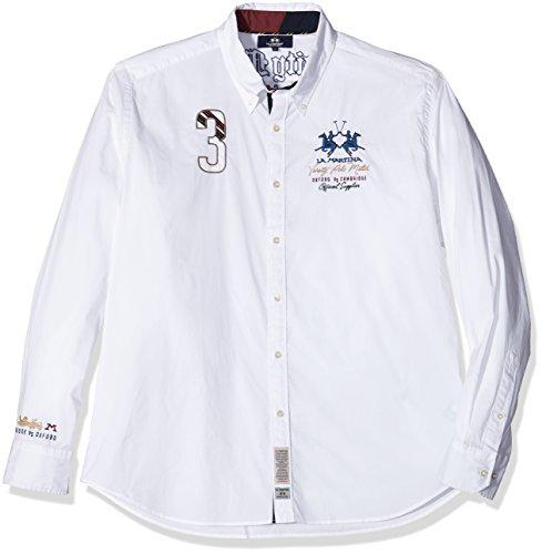 la-martina-man-shirt-l-s-poplin-stretch-chemise-casual-homme-blanc-00001-optic-white-l-taille-fabric