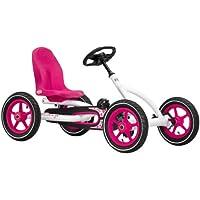 Berg Toys BERG Buddy White 24.20.61.01, Quad infantil, 3 a 8 años, color rosa, blanco y negro