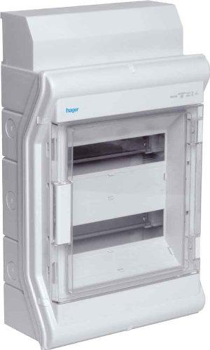 HAGER VE212DN Kleinverteiler AP 2x12TE KST IP65