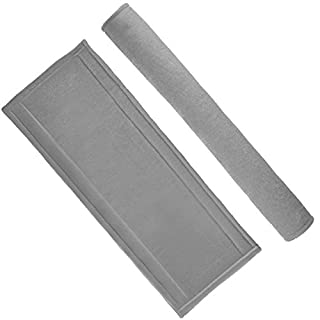 Asiv Refrigerator Door Handle Covers, Kitchen Electrical Appliances Protector, Keep Your Fridge Microwave Dishwasher Clean From Smudges Drips Food Stains (Grey, 2pcs)