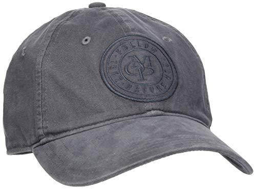 Marc O'Polo Herren 927806201004 Baseball Cap, Grau (Gray Pinstripe 987), One Size (Herstellergröße: OSO)