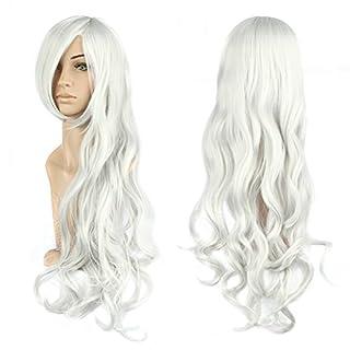 AISHN 80cm Cosplay Spiral Curly Perücke Voll Wig Fairy Tale Elza Cosplay oder Schaufensterpuppen Karneval