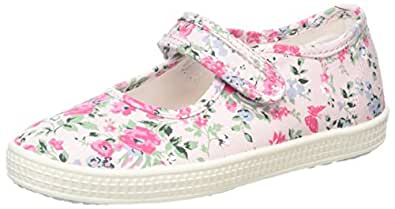 Start Rite Edith 2, Espadrilles Fille, Rose (Pink_6), 22 EU