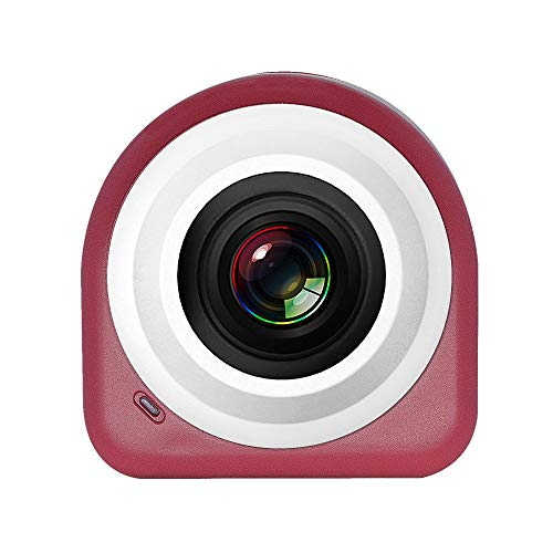 KILTYEN wasserdichte Kamera HD Outdoor Wireless WiFi Fernüberwachung Selbstauslöser Sport Kamera,Red
