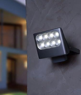 Led Außenstrahler Nevada 8 X 3 W von LED AUßENSTRAHLER NEVADA 8 X 3 W - Lampenhans.de