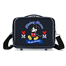 Disney Have a Good Day Mickey Blue ABS Adaptable Beauty Case, 29x21x15 cms