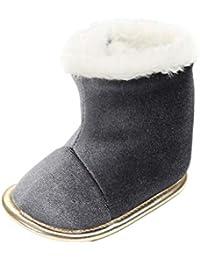 e06cded91d9f Auxma Chaussures bébé Fille bébé garçons Filles Chaussures d hiver Chaussures  pour Enfant Bottes bébé