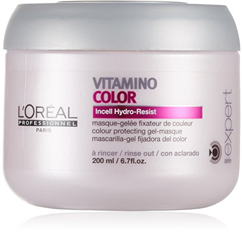 Loreal Serie Expert Vitamino Color Gelmask 200ml, 1er Pack (1 x 200 ml)