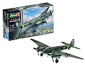 Revell- Junkers Ju88 A-4, Kit de Modelo, Escala 1: 48 (3935) (03935), 30,0cm (