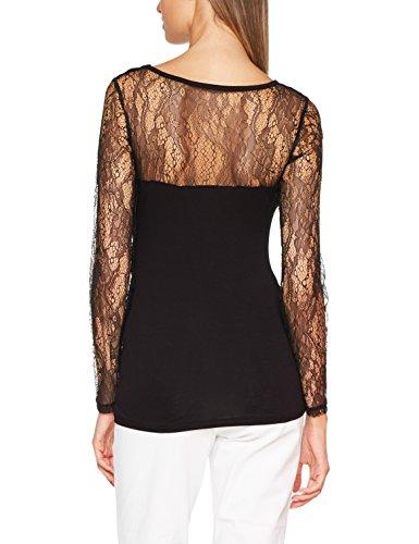 Morgan Damen T-Shirt Noir (Noir)
