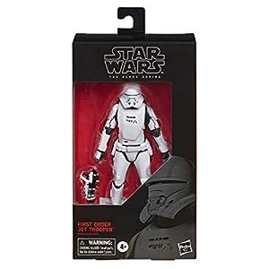 Star Wars - Figura de acción de Soldado Jet de la Primera Orden de Black Series (Hasbro E4080EL2)