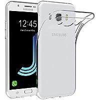 AICEK Funda Samsung Galaxy J5 2016, Transparente Silicona Fundas para Galaxy J5 2016 Carcasa J510FN (5,2 Pulgadas) Silicona Funda Case