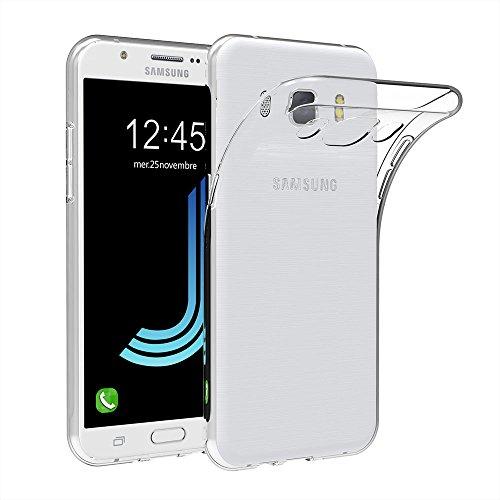 AICEK Samsung Galaxy J5 2016 Hülle Case, Galaxy J5 2016 J510 5,2 Zoll Case Silikon Soft TPU Crystal Clear Premium Durchsichtig Handyhülle Schutzhülle Case Backcover Bumper für Galaxy J5 2016