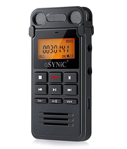 esynic-dictaphone-vocal-8go-numerique-audio-lin-in-enregistreur-telephonique-avec-lcd-double-microph