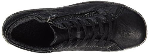 Remonte Damen R1470 Hohe Sneaker Schwarz (Schwarz/Schwarz)