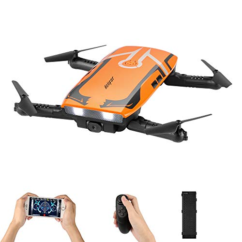 Drone with HD camera, H818 RC Folding Mini Drone Wifi FPV Drone 720P HD Toy Quadcopter 6 Axes Gyro Altitude Hold RC Quadcopter RTF, Gifts For Children, Adults
