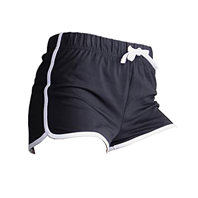 Skinni Fit Womens/Ladies Retro Training / Fitness Sports Shorts