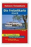 Die Allianz Freizeitkarte Holstein, Ostseeküste 1:100 000 - artaus