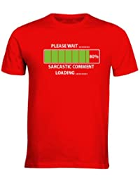 SARCASTIC COMMENT LOADING PLEASE WAIT MENS FUNNY T-SHIRTS ALL SIZES S - 3XL
