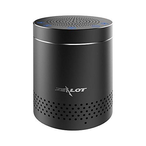 ZEALOT S15 Altoparlante Bluetooth Touch Control Portatile Mini Speaker Wireless con Ingresso Aux-In,Microfono Incorporato per Chiamate in Vivavoce,Compatibile con Smartphone Android/Tablet/Iphone,ecc-Nero